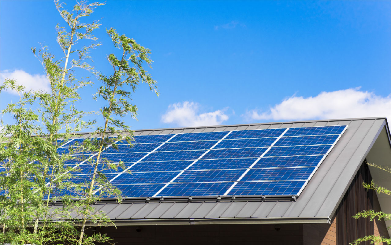 これからの太陽光発電は、製品力「太陽光発電設備」